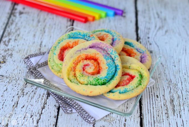 Rainbow Pinwheel Cookies | Special Cuisine Recipes