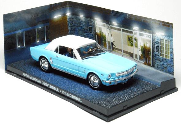 Ford Mustang convertible Thunderball 1:43