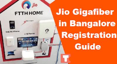 Jio Fiber in Bangalore