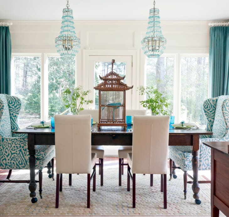 Classic Dining rooms designs and modern shapes