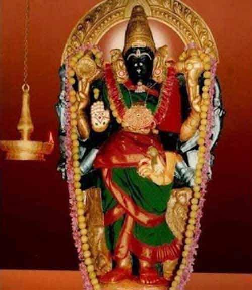 Dhenupureeswarar Patteeswaram Durga Temple