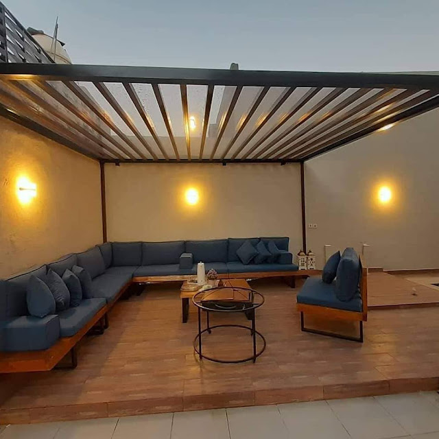 تصميم جلسات حدائق في عجمان