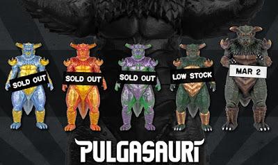 Pulgasauri Deluxe Soft Vinyl Figure by Mondo