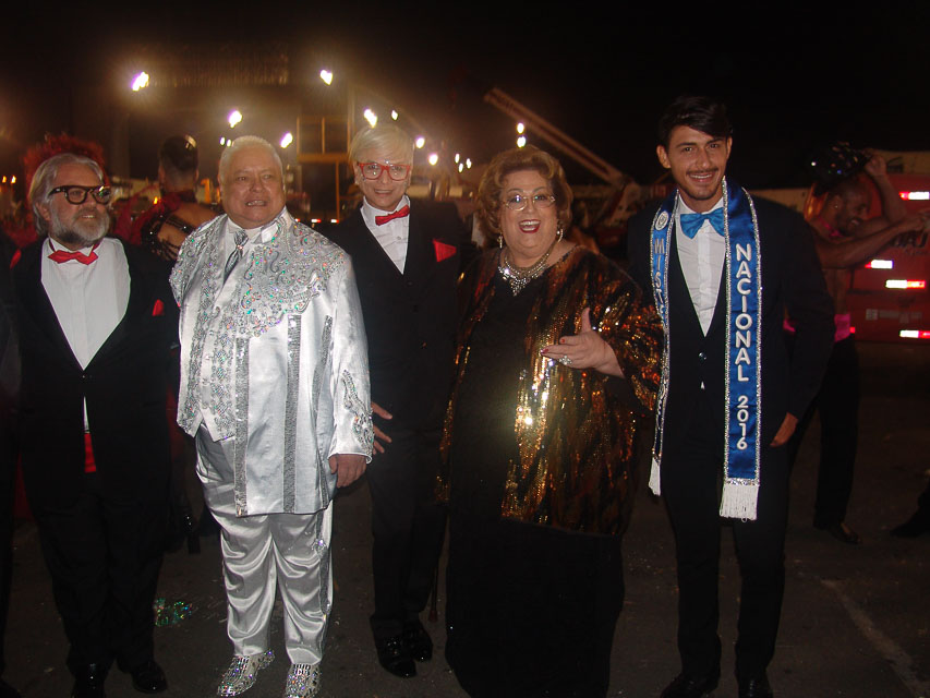 Leão Lobo, Rey Neves, Gregory, Mamma Bruschetta e Robson Menezes. Foto: Trajano Fkeller
