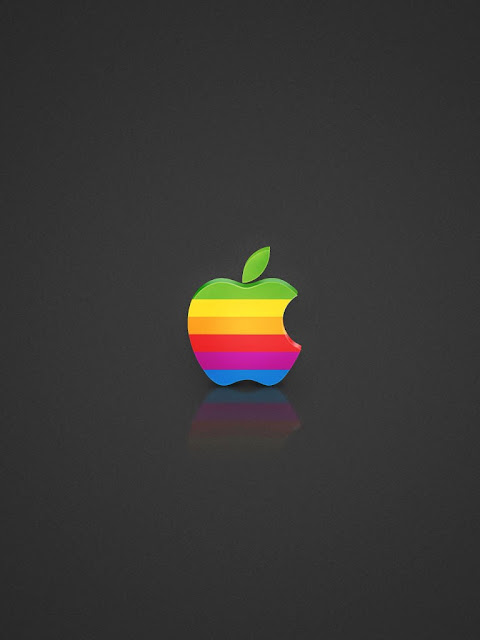 Rainbow Apple Logo Ipad Mini Wallpapers