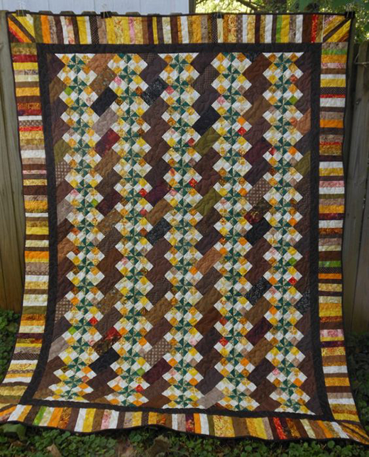 Old Tobacco Road Quilt Designed by Bonnie K. Hunter from Quiltville