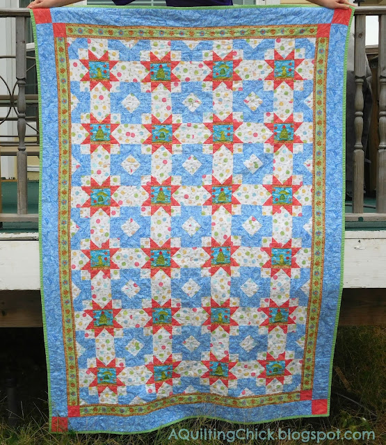 Frog Mystery Quilt