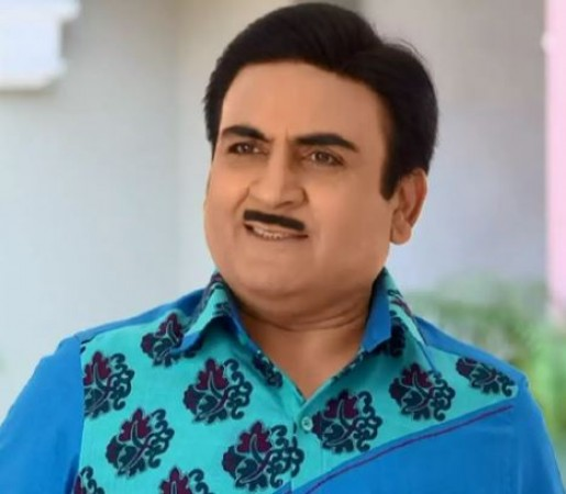 Dilip Joshi with moustache