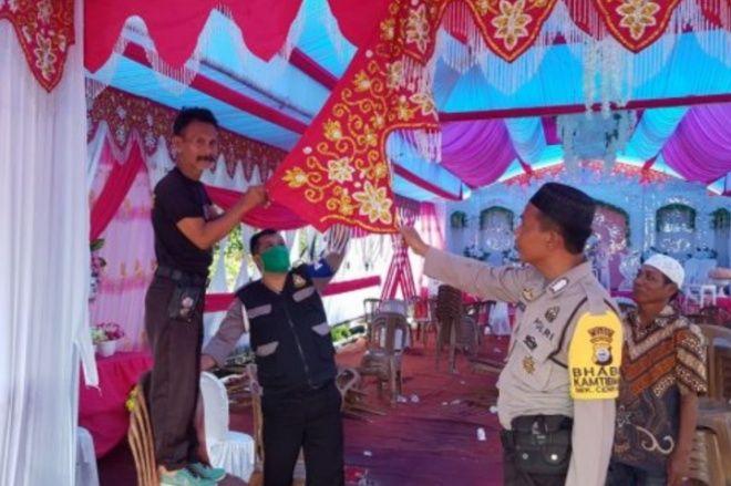 Nekat Gelar Hajatan, Polisi Bubarkan Resepsi Pernikahan di Cenrana