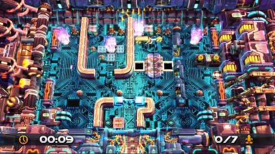 Robot Rescue Revolution ScreenShot 01