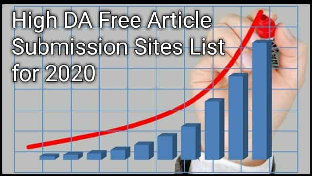 Free article submission sites 2020,Article submission Sites with instant approval,Free article submission sites list 2019,Free article submission sites List UK,Article submission sites in India,Free article submission sites without registration,Article submission sites UK,Free article submission sites 2020,Best Free article submission sites list 2020.