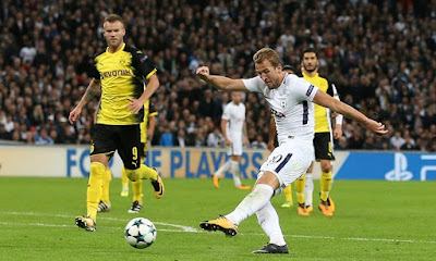 Highlight Tottenham 3-1 Dortmund, 13 September 2017 ~ Blog Sepakbola Dunia