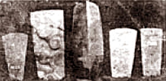 Gambar kapak lonjong dan kapak persegi