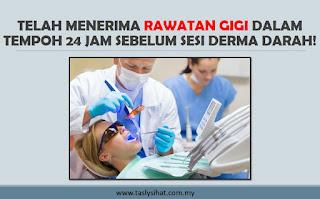 jangan derma darah
