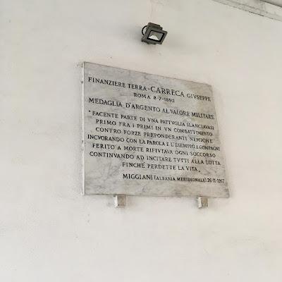Giuseppe Carreca Finanza targa