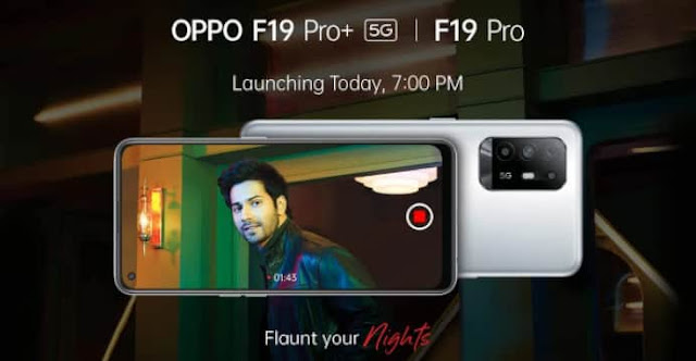 oppo f19 pro and f19 pro+ specifications and price