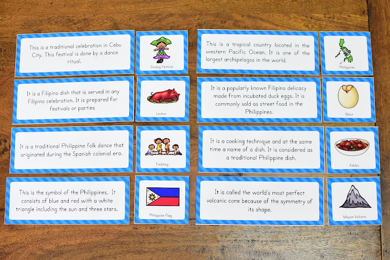 Country Study Philippines: Activity Sheets