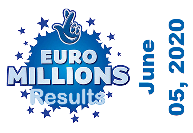EuroMillions Results for Friday, June 05, 2020