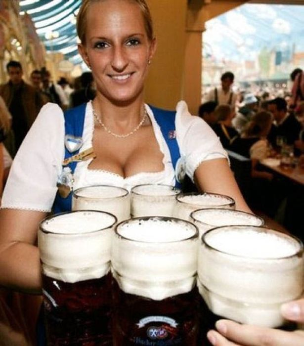Not girl with beer keg agree, your