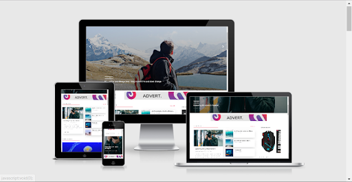 Alpha Blogger Template Free Download