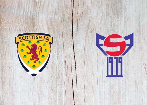 Scotland vs Faroe Islands -Highlights 31 March 2021