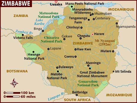 Zimbabwe | História e Geografia do Zimbabwe