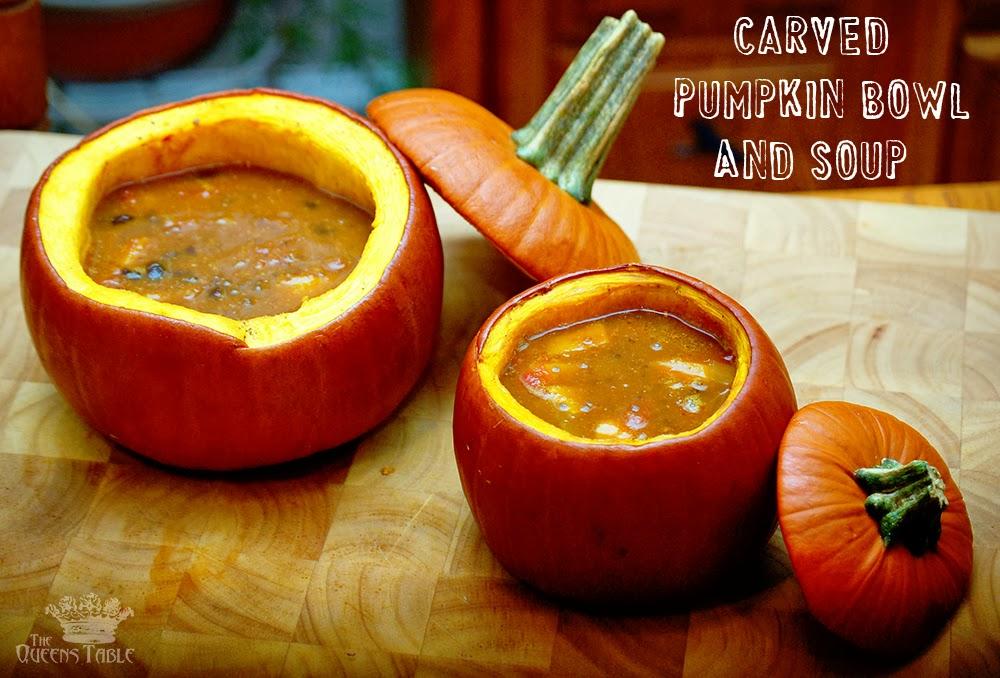 The Queen's Table: Epic Pumpkin Bowl FAIL! Plus A Cauldron ...
