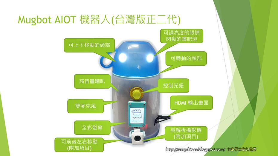 Mugbot - AIoT 陪伴機器人