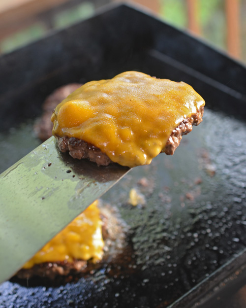 Doesn't get any better than a blanket of smoky cheddar.