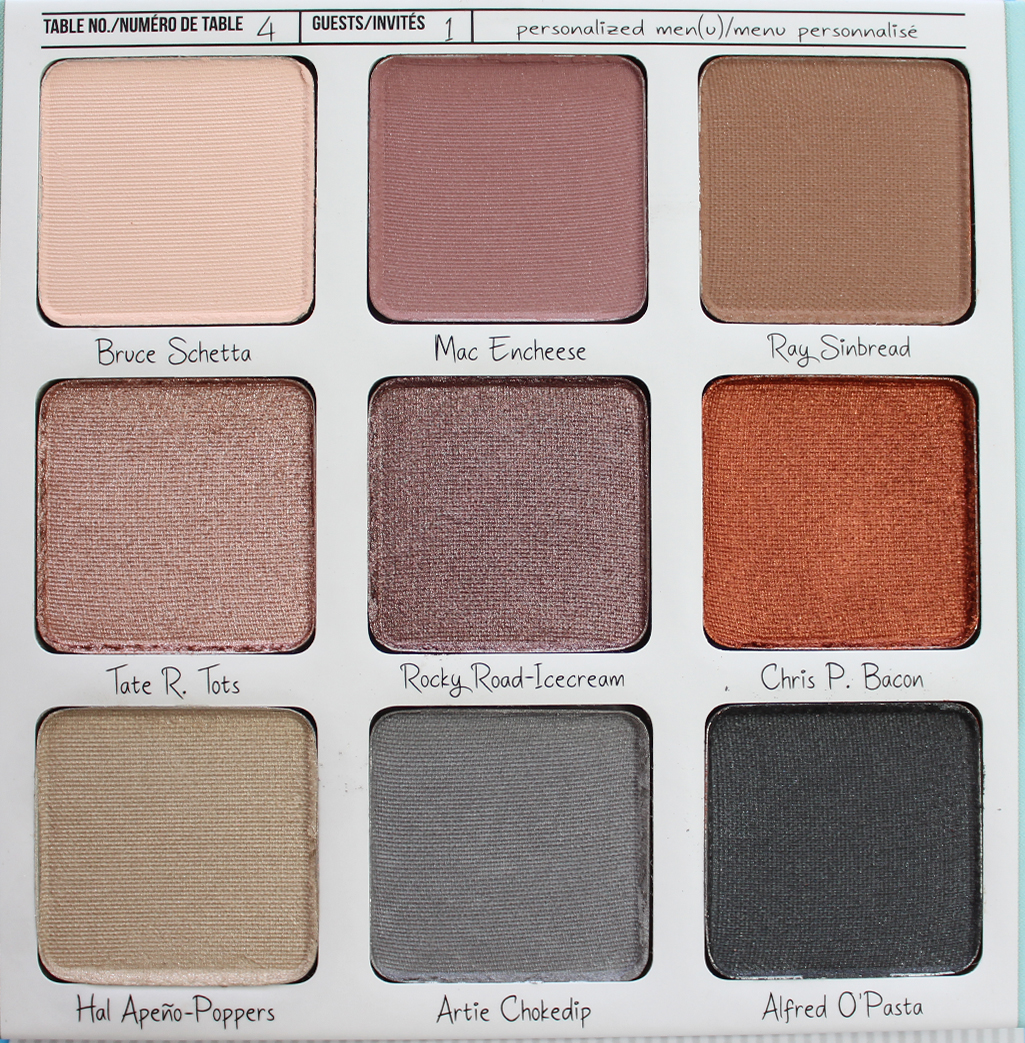 THEBALM | Appétit Eyeshadow Palette - Review + Swatches - CassandraMyee