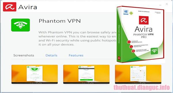 Download Avira Phantom VPN Pro 2.28.2.29055 Full Crack