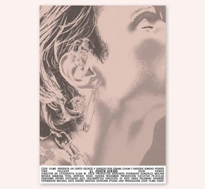 El joven Diego - poster cortometraje