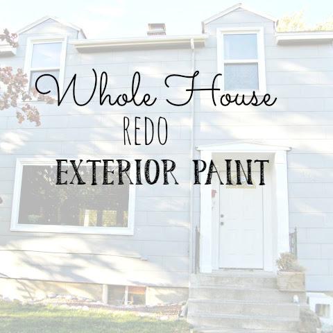 Whole House Redo - Exterior Paint