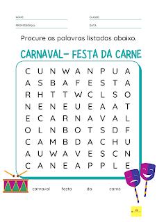 Carnaval  Educação Cristã