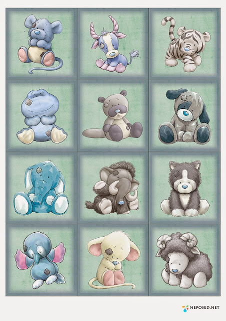 Blue Nose Friends Characters.