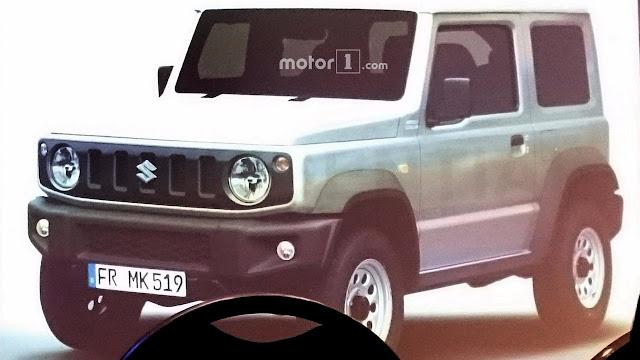 Leaked 2018 Suzuki Jimny