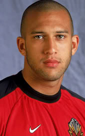 android game: Tim Howard, the goalkeeper Scorers