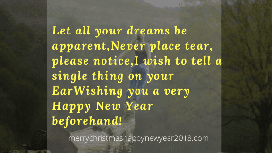 Happy New Year Thoughts In English 33