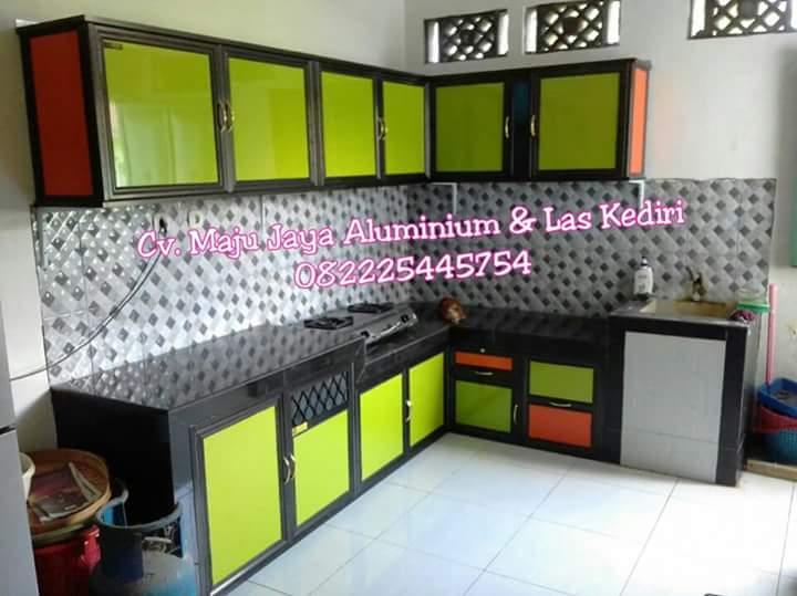 Maju Jaya Aluminium Las Kediri Kitchenset Aluminium Acp Ahlinya
