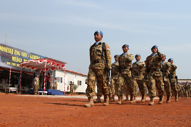 Misi-pasukan-perdamaian-PBB-Indonesia-selesai-tugas-KONGA XX-M Pic1