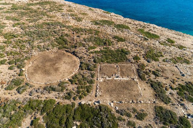 2020 excavation findings at Apollo's island sanctuary on Despotikon