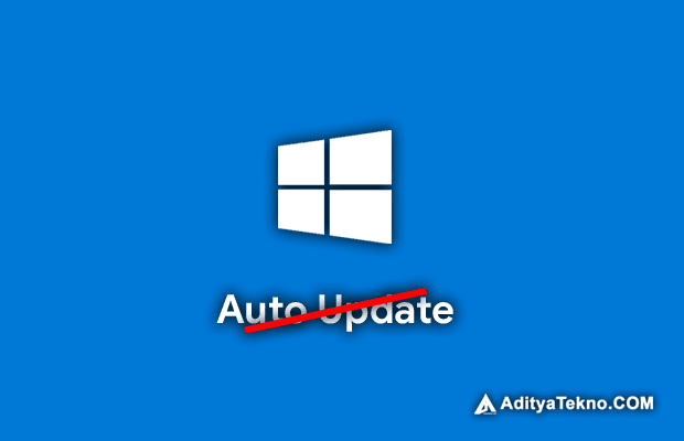 Cara Menonaktifkan Auto Update Windows 10