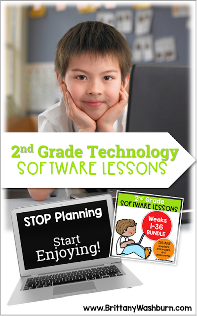These Spiral Review technology lessons for 2nd grade teach presentation, word processing, and spreadsheet software over 12 sessions. These will make a great addition to your technology curriculum for the computer lab.