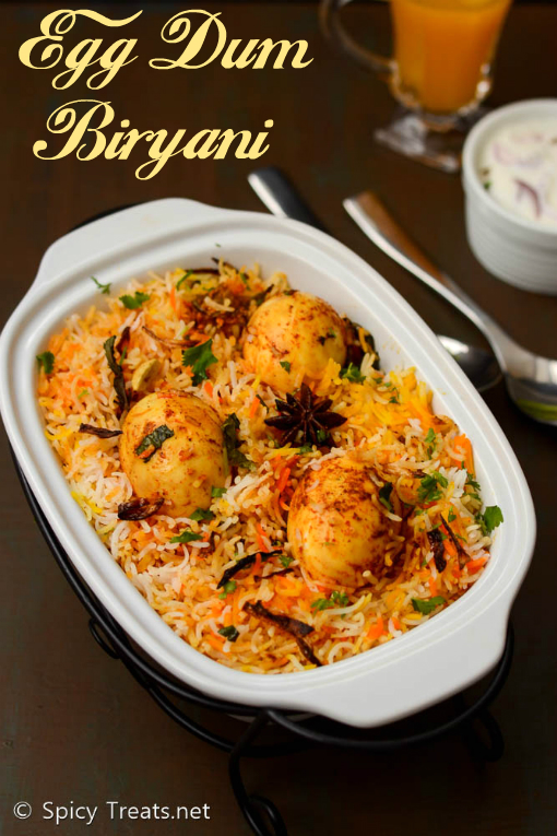 Egg Dum Biryani Recipe