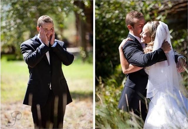 abraço de noivos