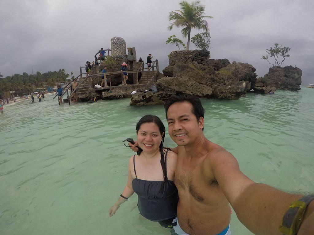 At Willy's Rock in Boracay