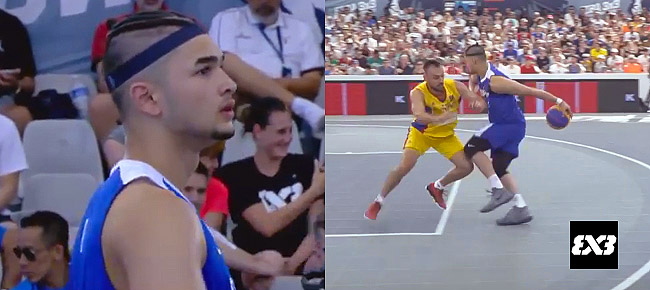 Kobe Paras with the NASTY Behind-the-back Move (VIDEO) FIBA 3x3 World Cup 2017