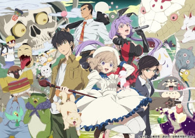 In/Spectre (Kyokou Suiri) anime characters poster
