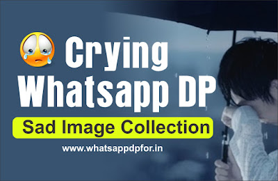 Crying dp for Whatsapp profile
