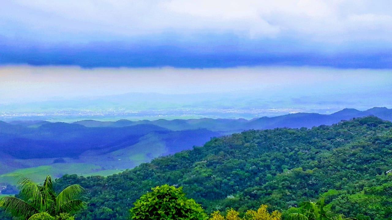 Mirante na Serra da Mantiqueira - rumo a Visconde de Mauá